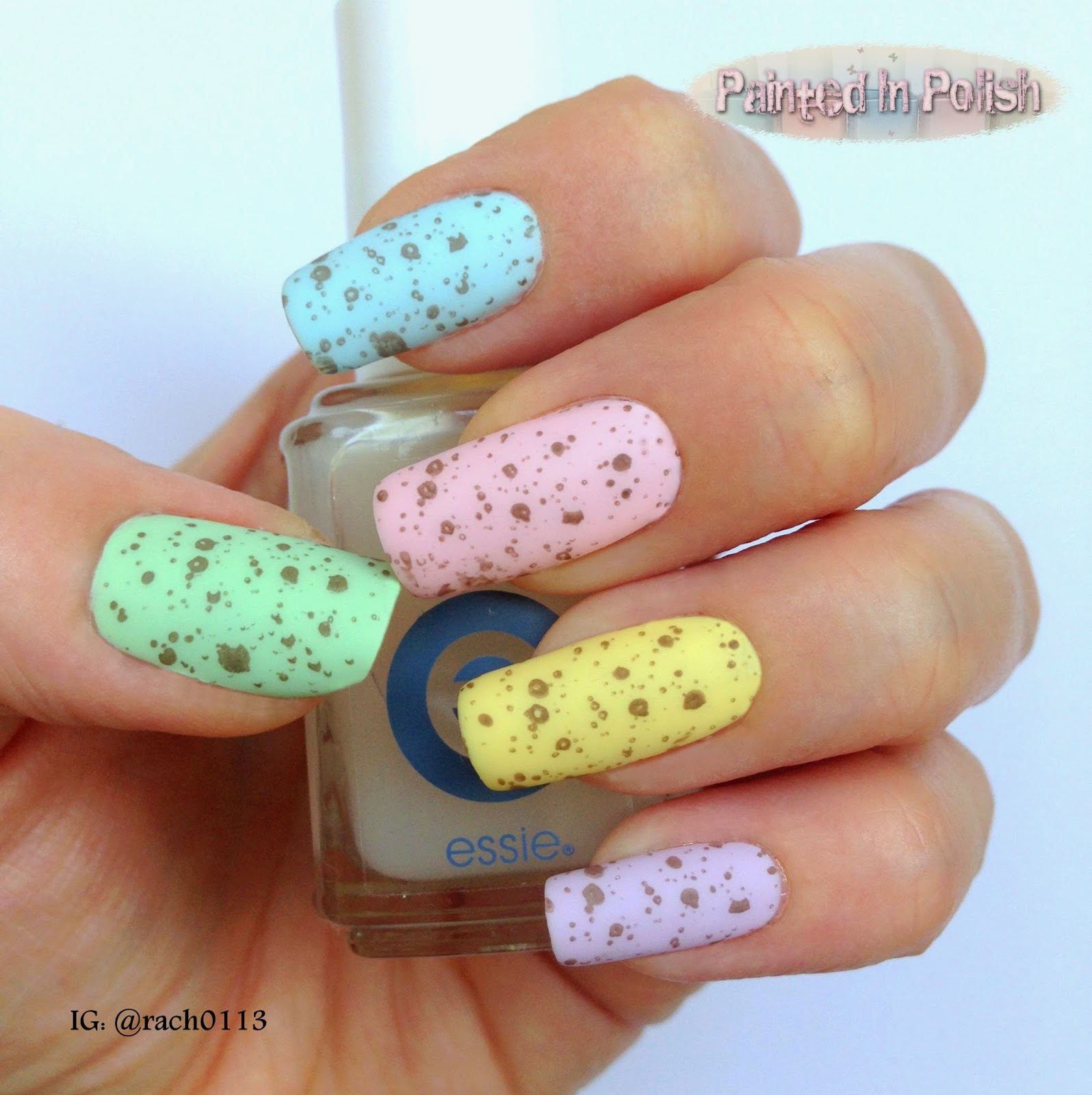 Painted In Polish: Easter Nail Art