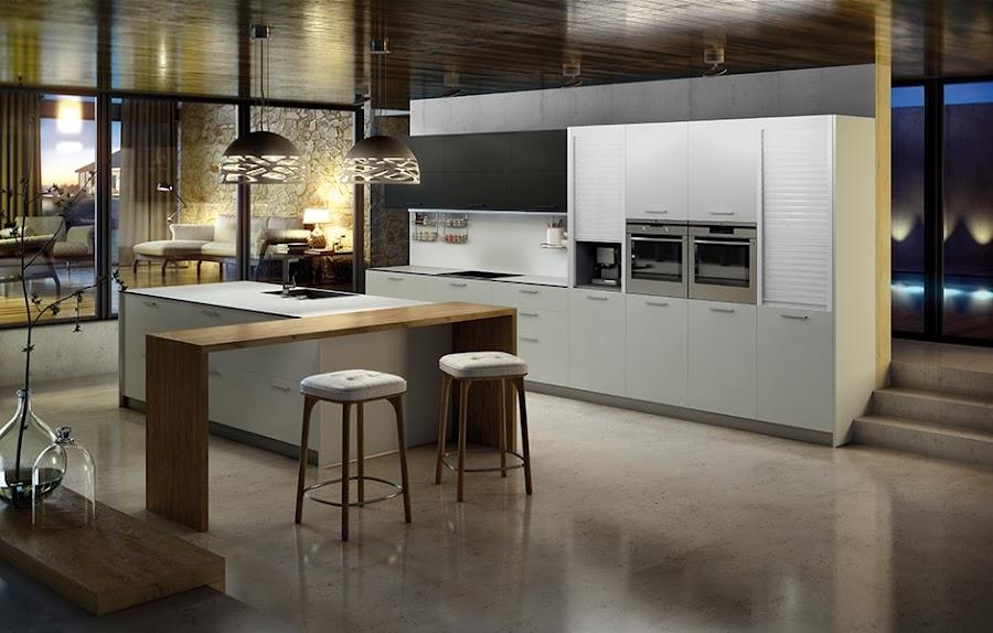 Cocinas laminadas laminado en la cocina material - Cocinas super modernas ...