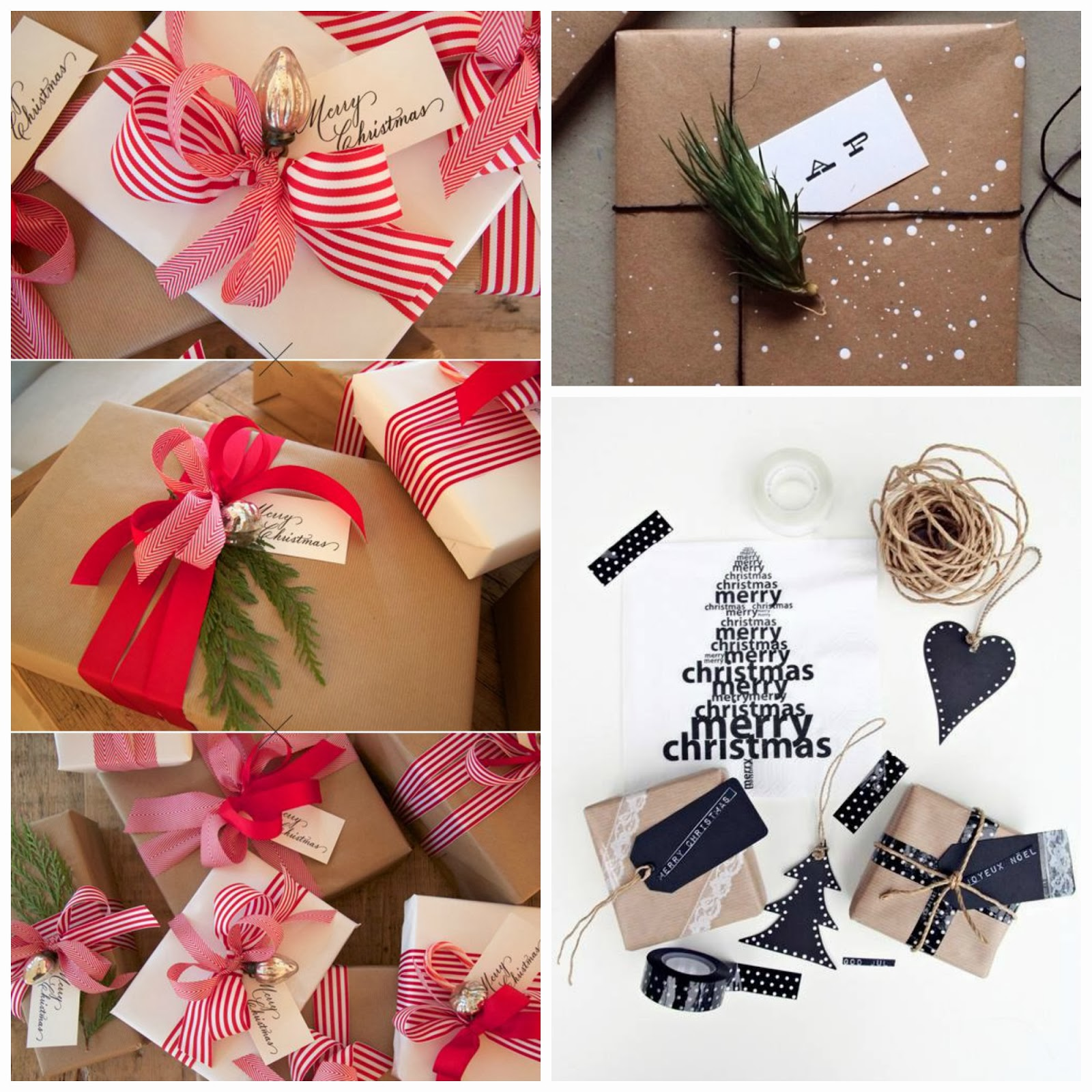 honey and fizz: Christmas Gift Wrapping Ideas.
