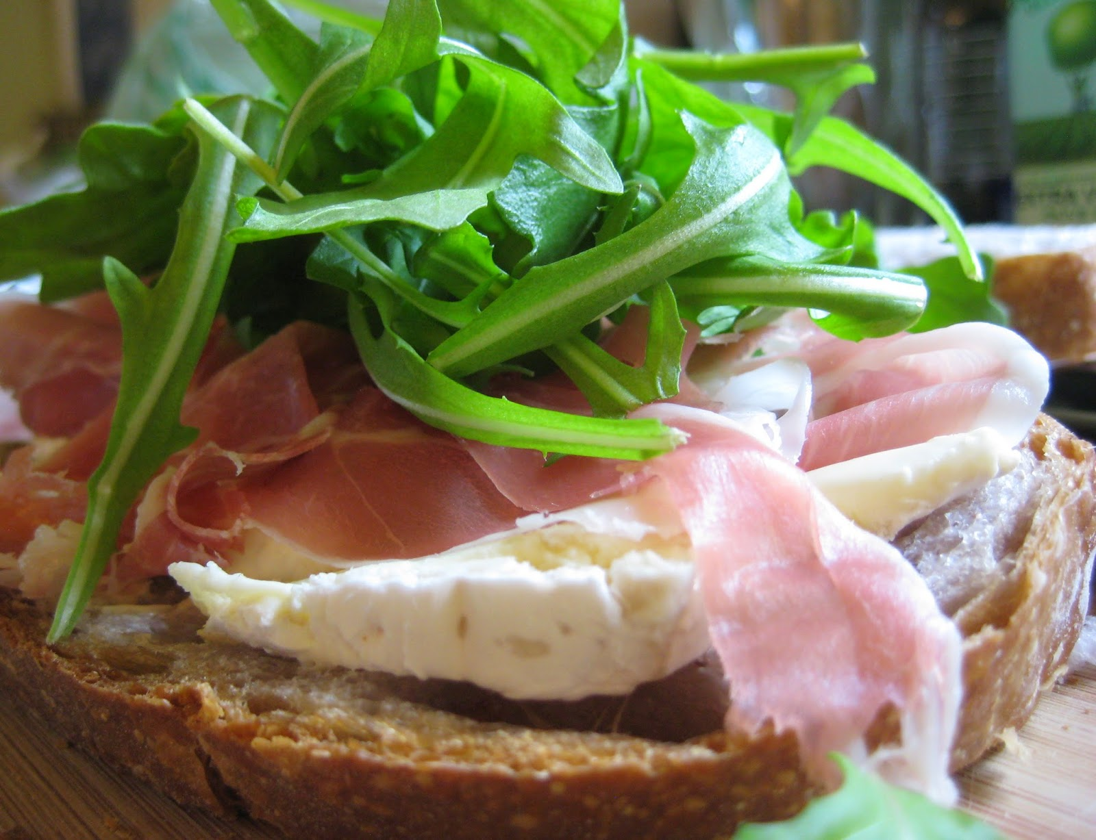 Cook Food. Mostly Plants.: Toasted Prosciutto and Brie ...