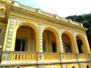 Secretaria de Cultura de Bagé, no antigo Palacete Pedro Osório.