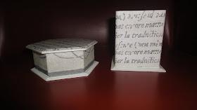 Kit porta cartão e caneta pequena letras