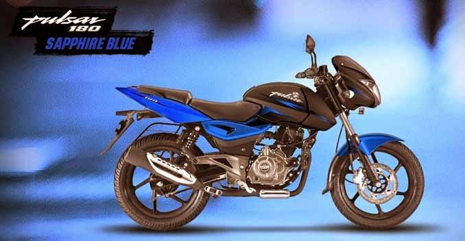Bajaj Pulsar 180 sapphire blue