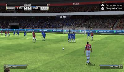 FIFA 13 FREE KICK