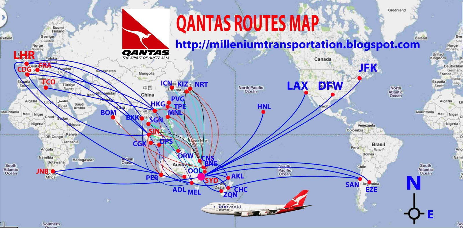 Routes map routes map of qantas routes map of qantas publicscrutiny Images