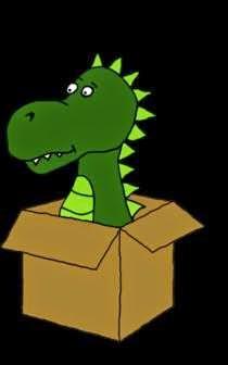 Der Drache in der Kiste