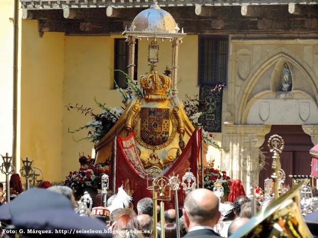 Corpus Chico de la Sacramental de la Vera Cruz. León 2014. Foto G. Márquez