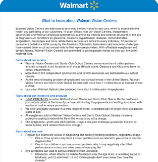 Information Regarding Walmart Vision Center Eye Exam Cost 1