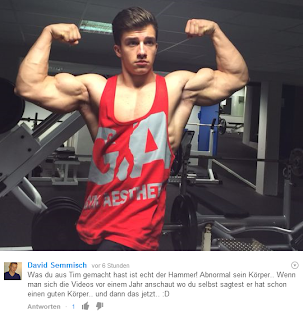 Tim Gabel natural Bodybuilder Arm Wrestling