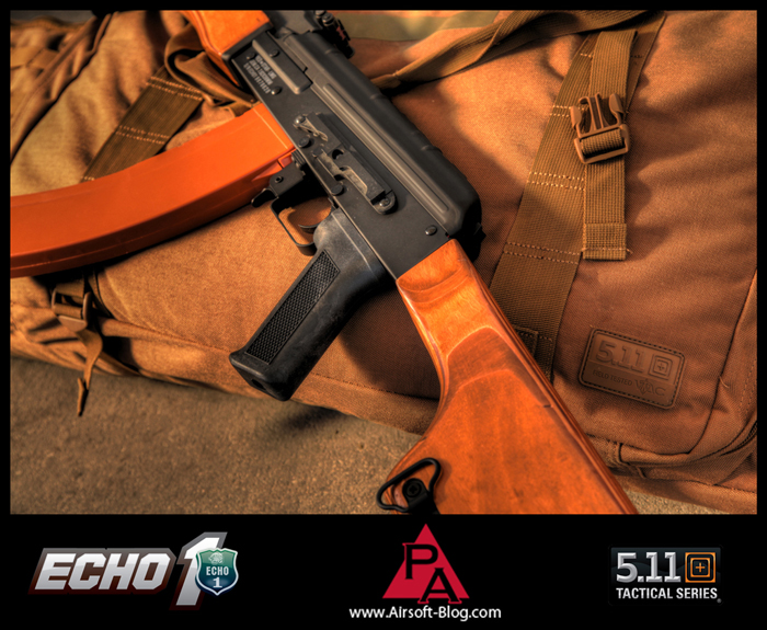 Echo1 RedStar LMG, Airsoft RPK, Airsoft AEG, 5.11 Tactical Rifle Bag, Brian Holt, Pyramyd Airsoft Blog, Tom Harris Media, Tominator,