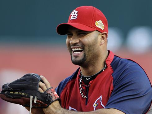 albert pujols baseball player One of the greatest players in major league baseball currently, if not the greatest   albert pujols hit three home runs in one game against the reds, including a.