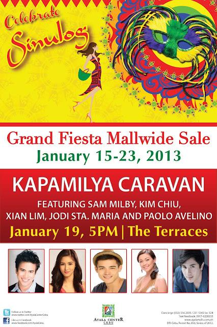 Kapamilya Fiesta Caravan on Sinulog 2013