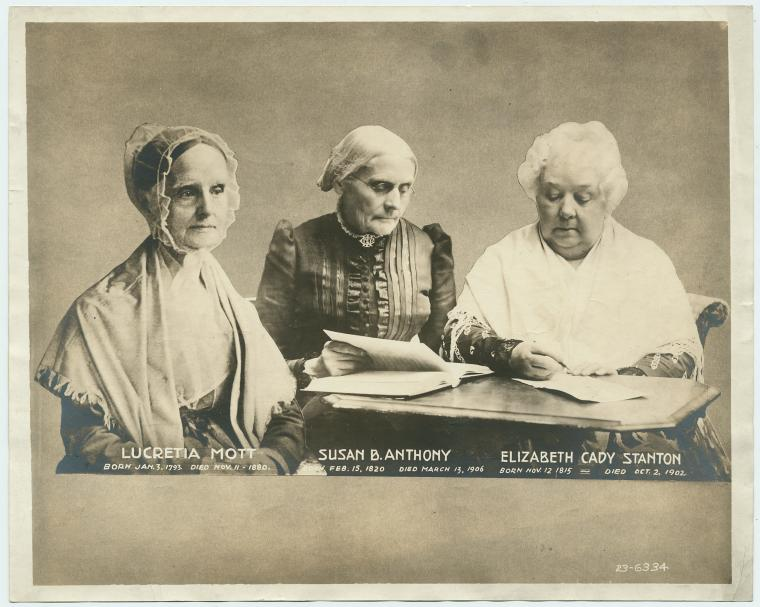 elizabeth cady stanton lucy stone and Leading suffragist and abolitionist lucy stone famously defied gender norms  when she  in 1869, stone broke with suffragists elizabeth cady stanton, susan  b.