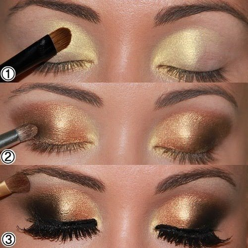 Mi espacio ideal maquillar los ojos paso a paso for Como maquillar ojos ahumados paso a paso