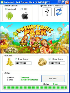 prehistoric park builder free hack tool android ios