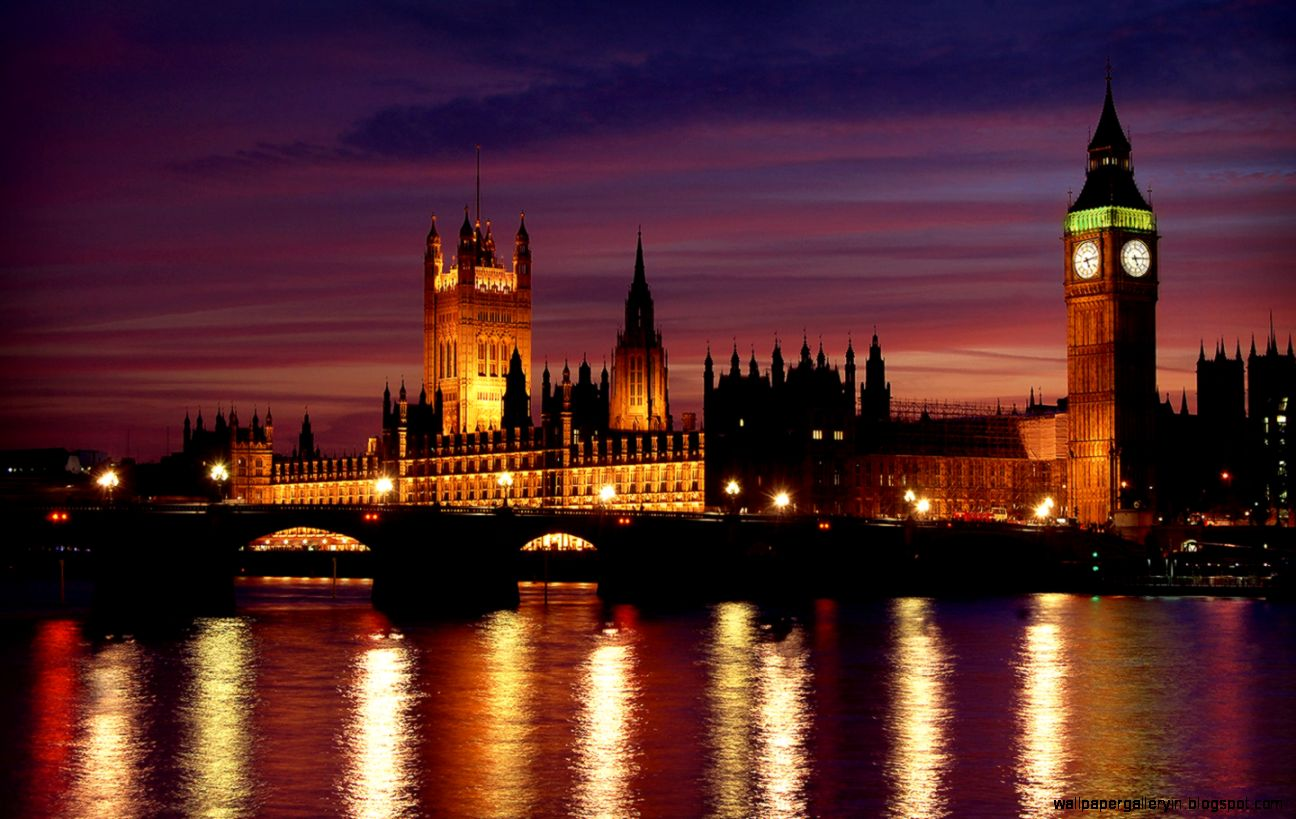Skyline london cityscape westminster at night hd wallpaper for London cityscape wallpaper