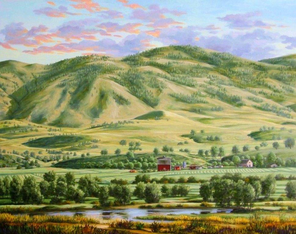 Cuadros modernos pinturas y dibujos paisajes bonitos cuadros for Cuadros bonitos y modernos