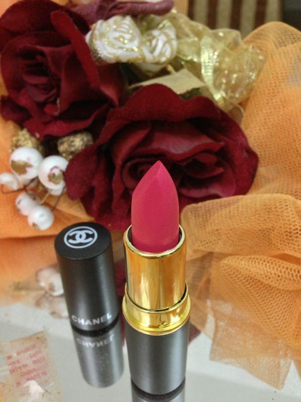 Chanel's Lipstick Rouge a levres hydrabase 15 Desert Rose by ShimmerAsh.com