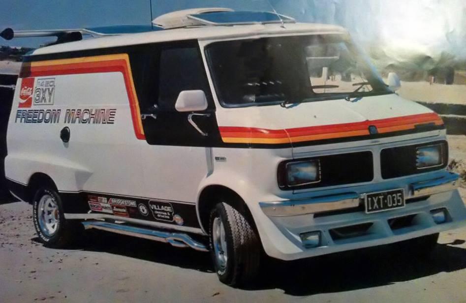 Bedford Cf2 Van Freedom Machine