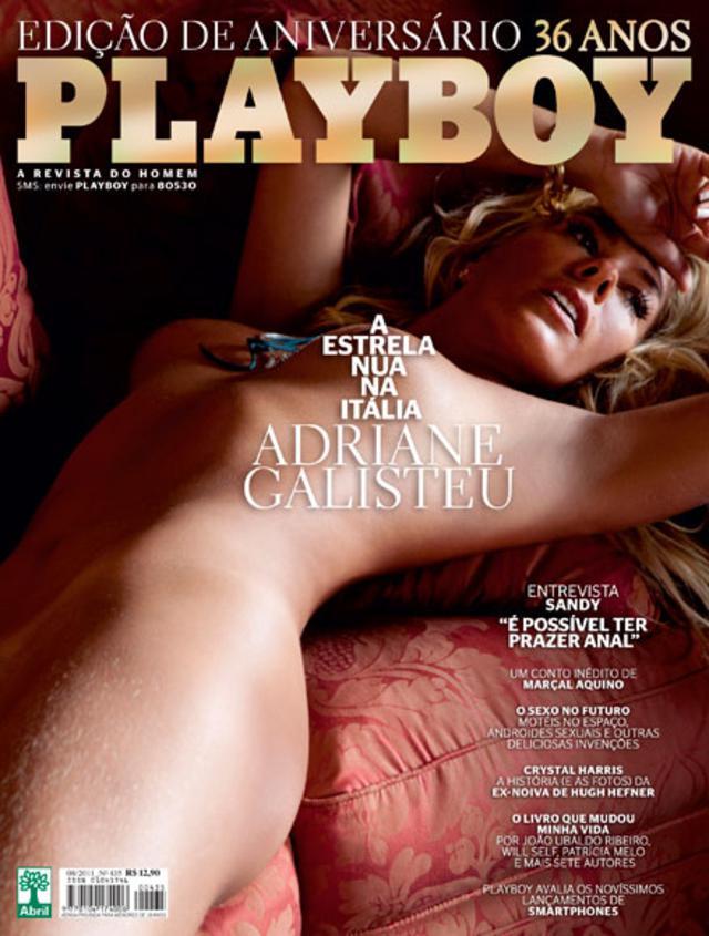 Adriane Galisteu Playboy Agosto De