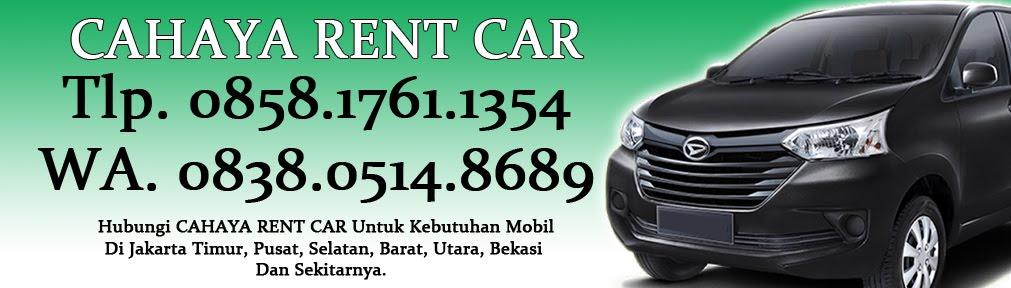 Jasa Sewa mobil & Rental Mobil Murah Di Jakarta Timur, Bekasi (Tidak Bisa Lepas Kunci)