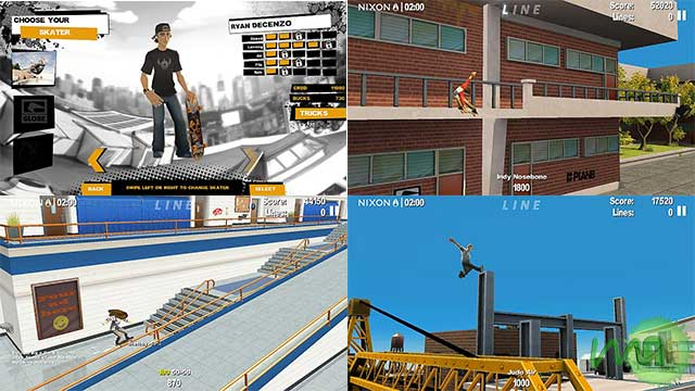 Endless Skater Android scrteenshot