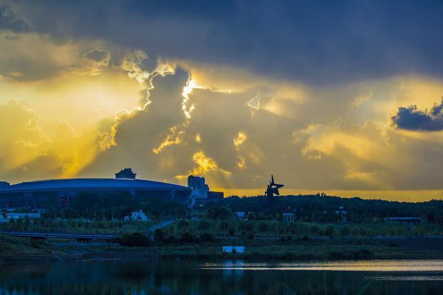 жовто-блакитне небо Донецька