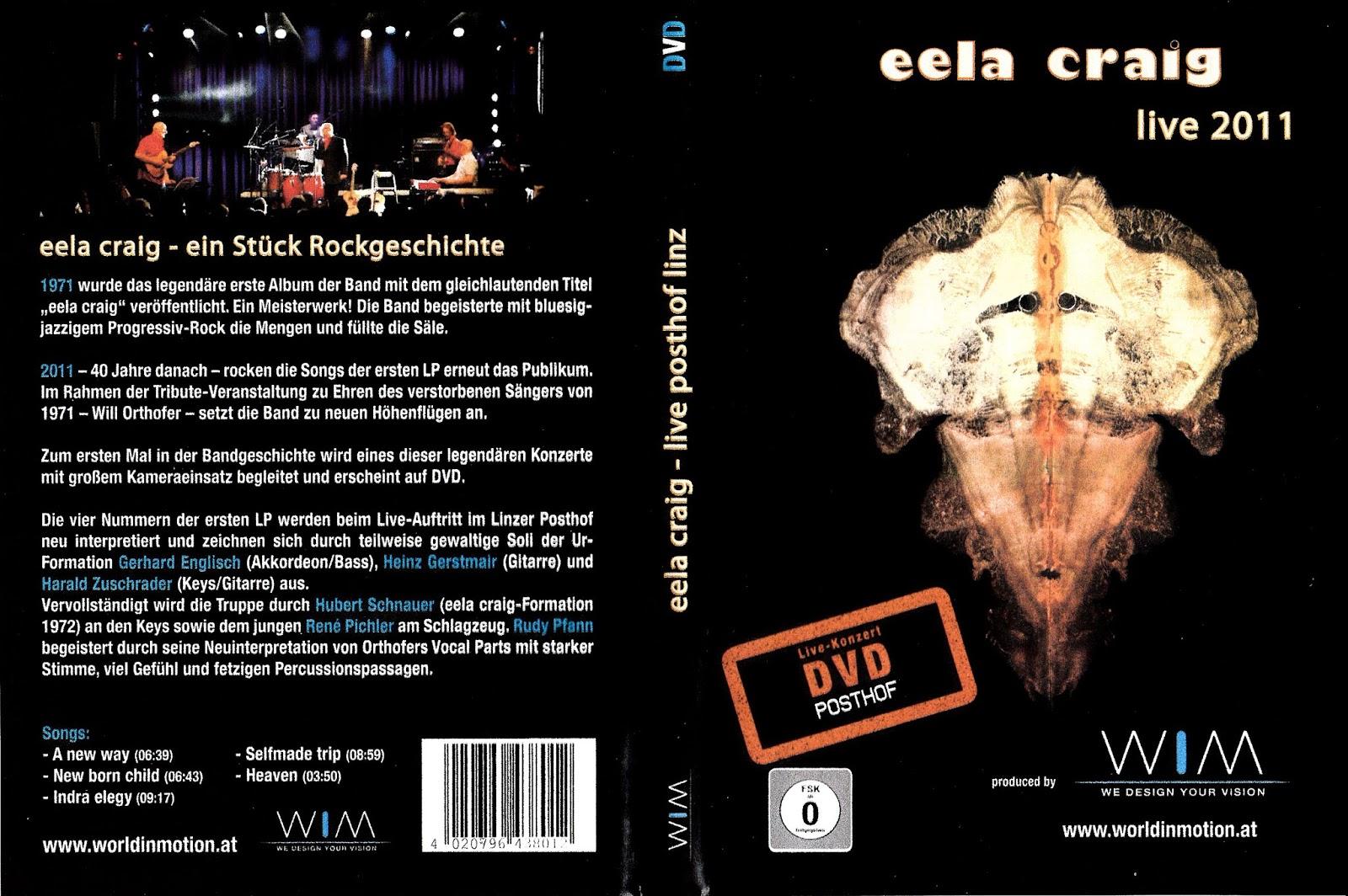Musik von daham: EELA CRAIG LIVE 2011 (DVD)