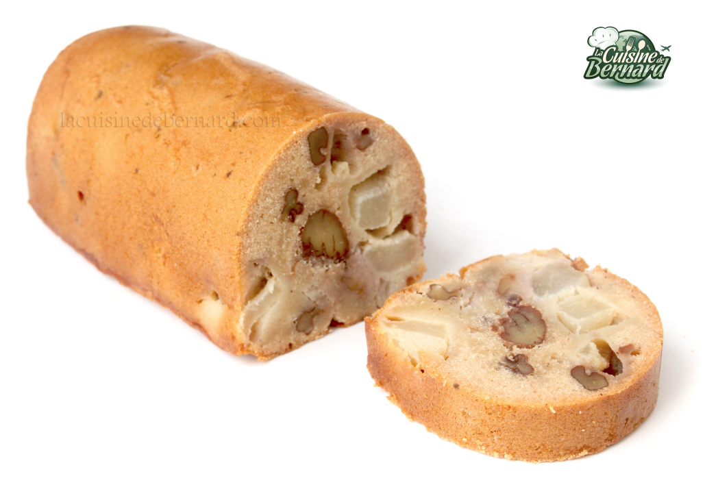 La cuisine de bernard cake d 39 automne miel noix poires for Cuisine de bernard