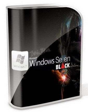 Windows 7 Black Edition 32 Bit Ultimate