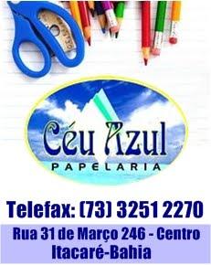 PAPELARIA CÉU AZUL