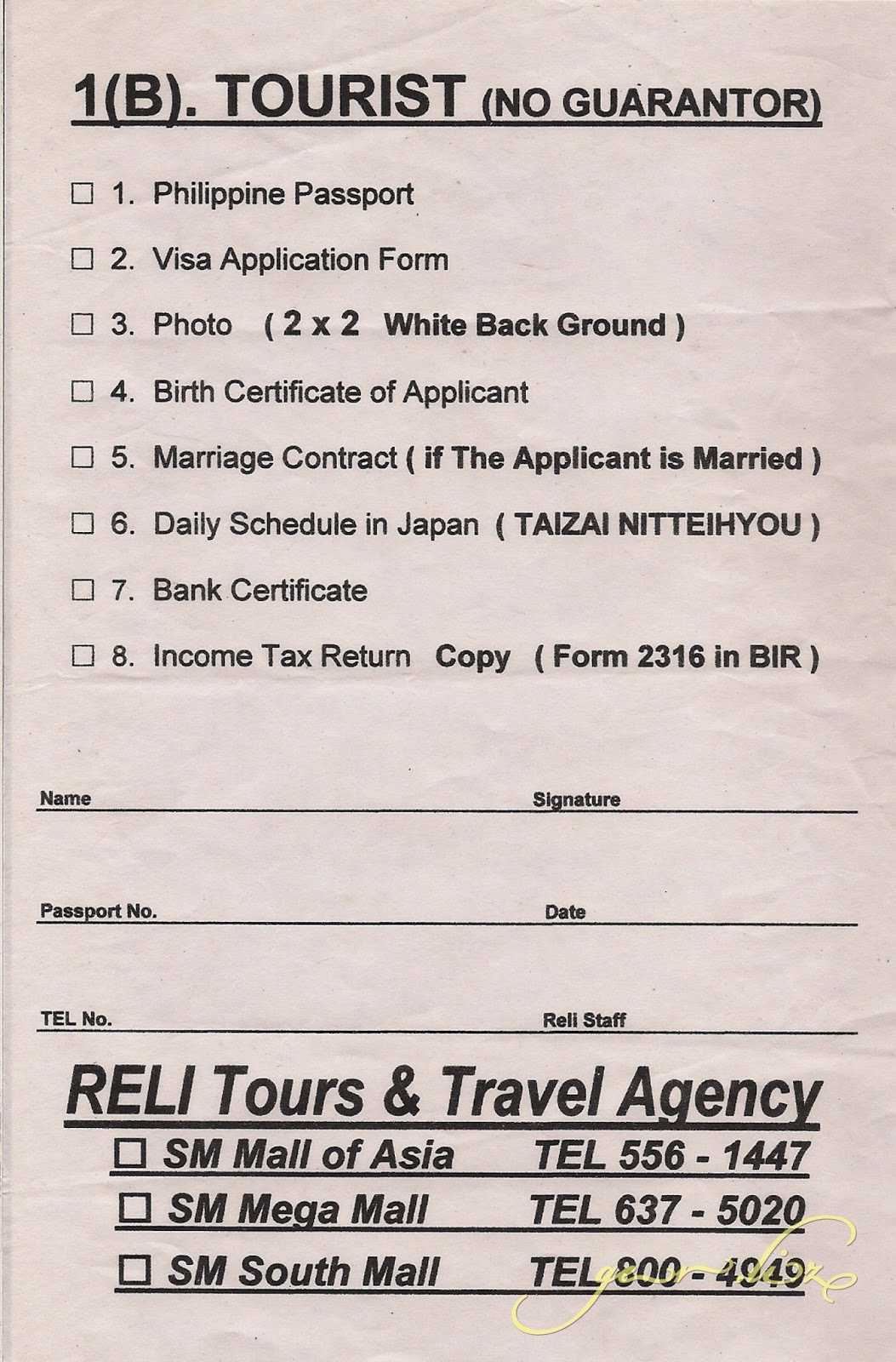 Applying for a japan visa 2012 trips by liz filled up application form 2x2 photo with white background glued to the application form passport birth certificate from nso aiddatafo Gallery