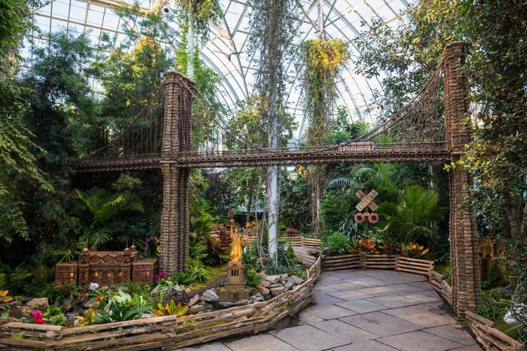Holiday Train Show 2015 New York Botanical Garden