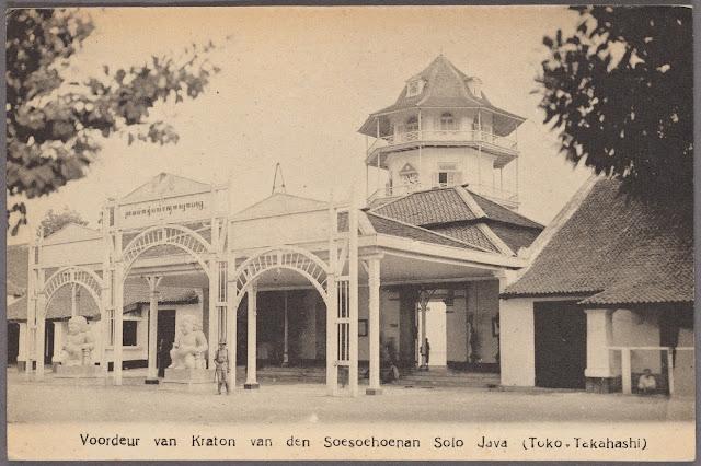 Kraton Solo / Surakarta 1910 - by Toko Takahashi