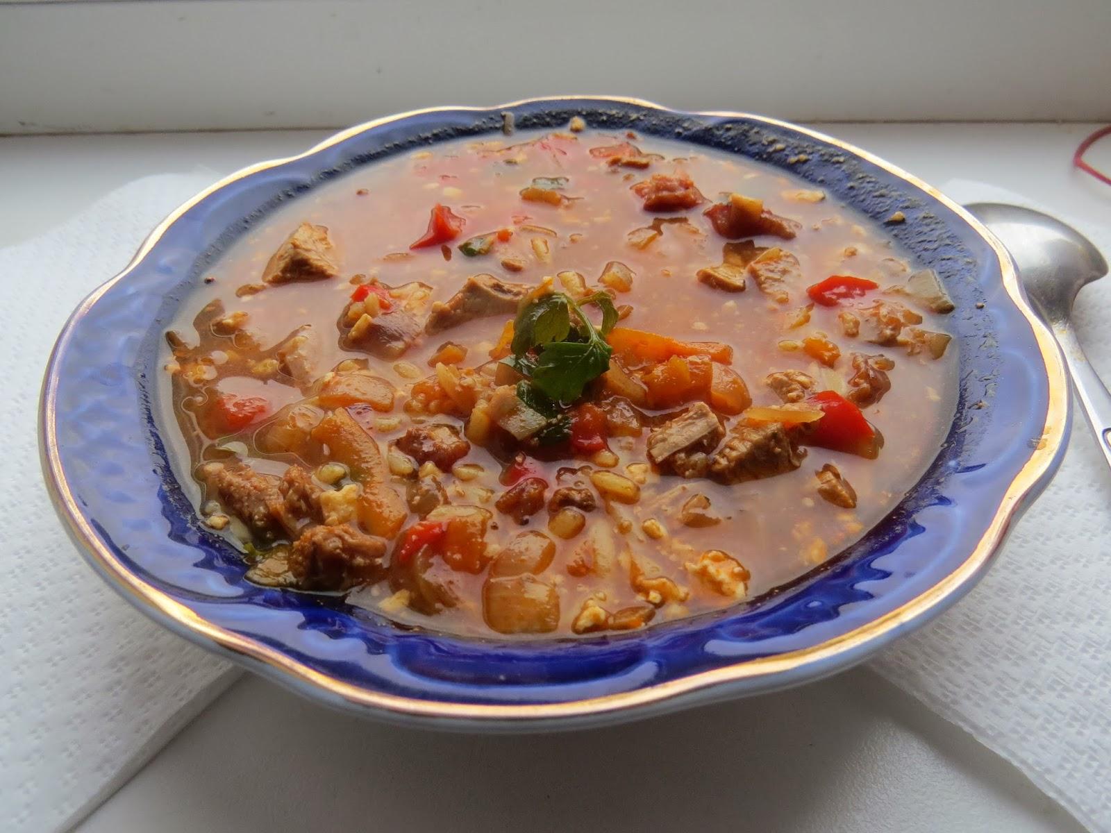 Как приготовить суп харчо из свинины рецепт пошагово в