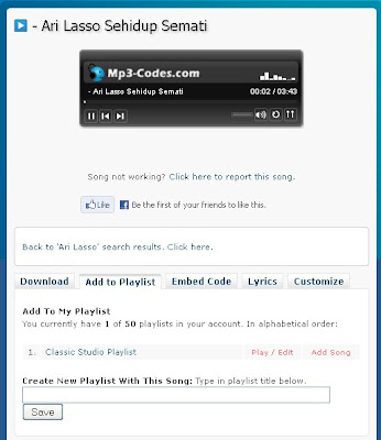 cara buat playlist mp3-codes.com