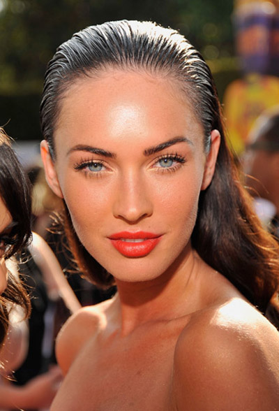 megan fox makeup products. girlfriend Megan Fox Without