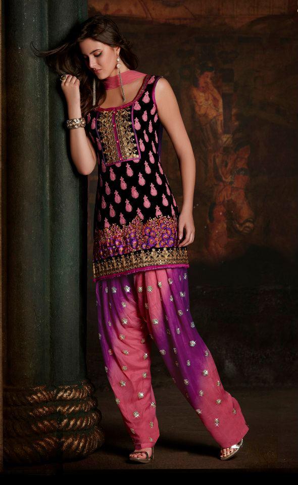 Patiala Salwar Kameez 2013 Indian Patiala Salwar Fashion