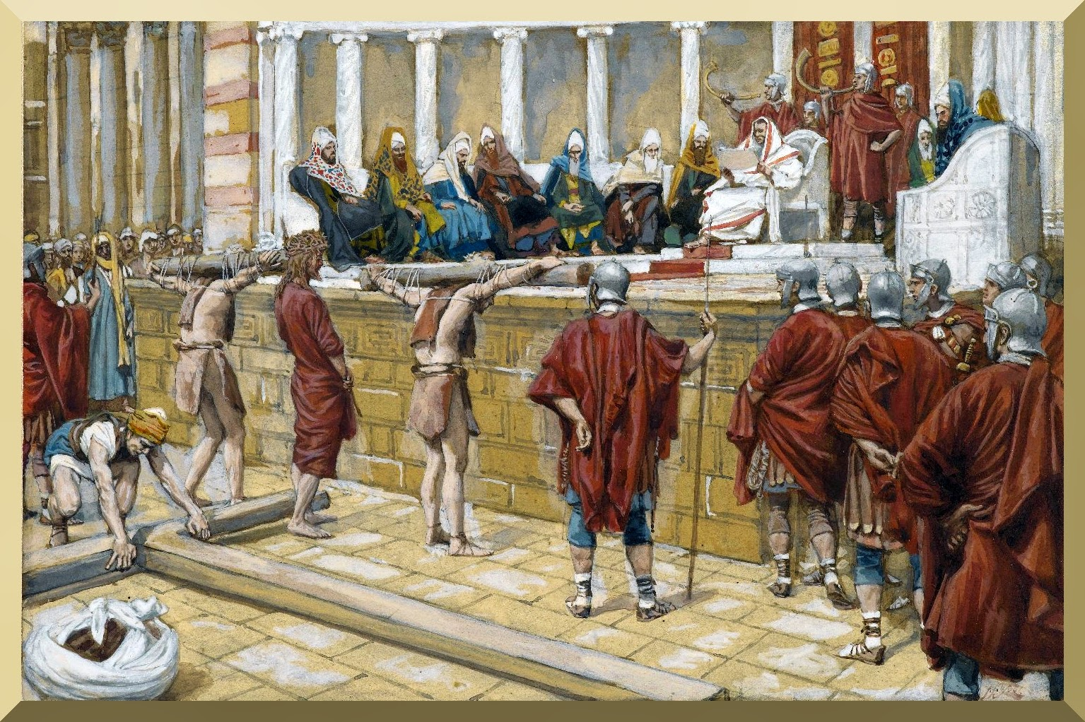 The Judgment on the Gabbatha