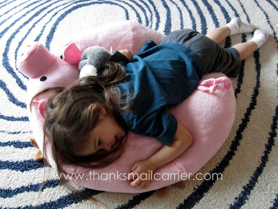 pig floor pillow