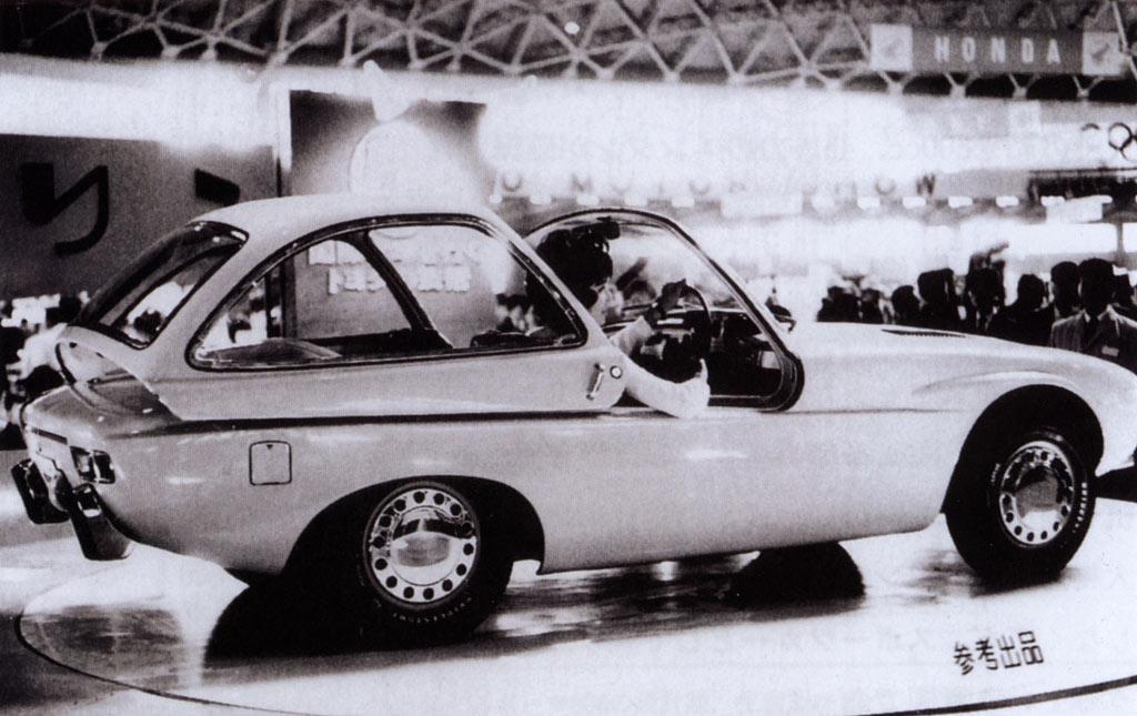 Toyota Publica Sports, concept, prototype, JDM, oldschool, stare japońskie samochody, klasyk, sportowy, kultowy, boxer