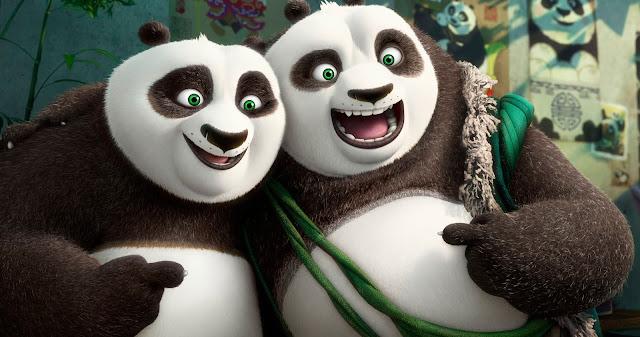 Po encontra seu Pai no primeiro trailer de Kung Fu Panda 3