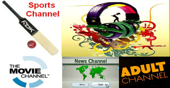 Adult online channels broadcast