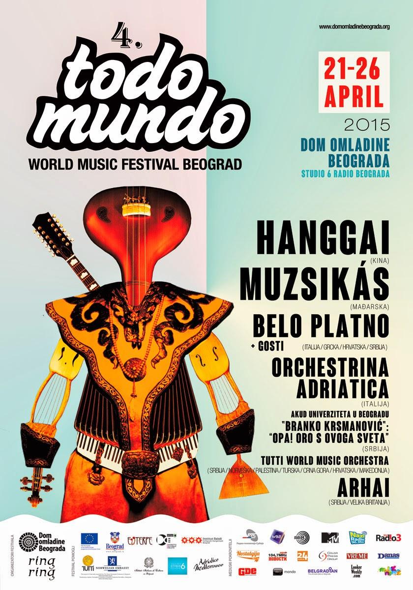 Orchestrina Adriatica 21. aprila na 4. Todo Mundo festivalu