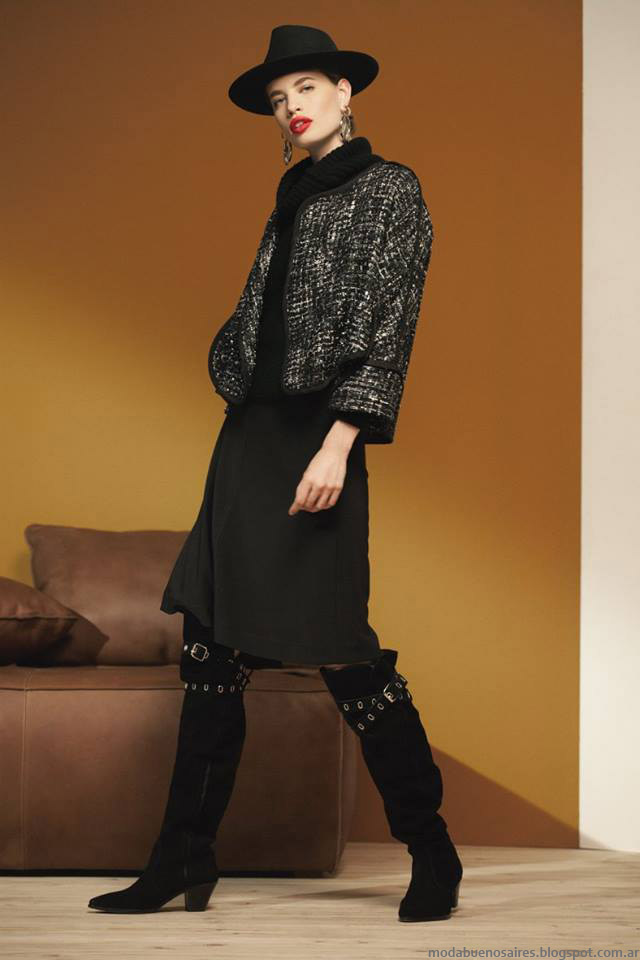 María Cher otoño invierno 2016. Moda otoño invierno 2016 moda argentina.