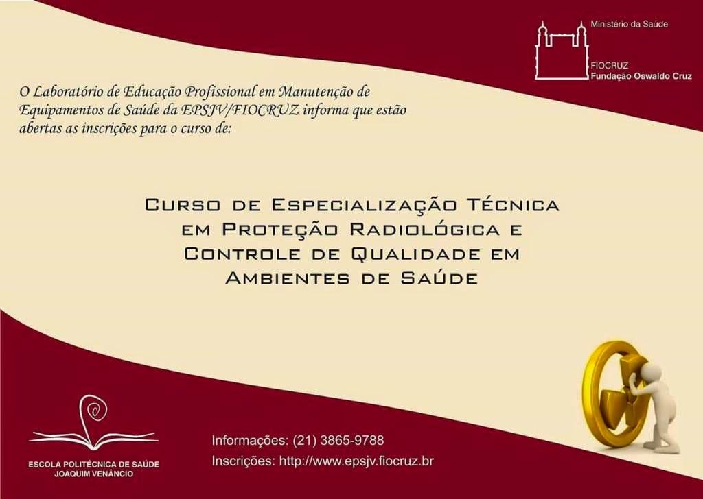Cursos de Especialização da Fiocruz com inscrições abertas