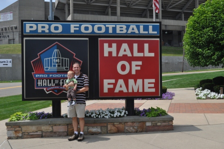Canton, OH: Pro Football Hall of Fame