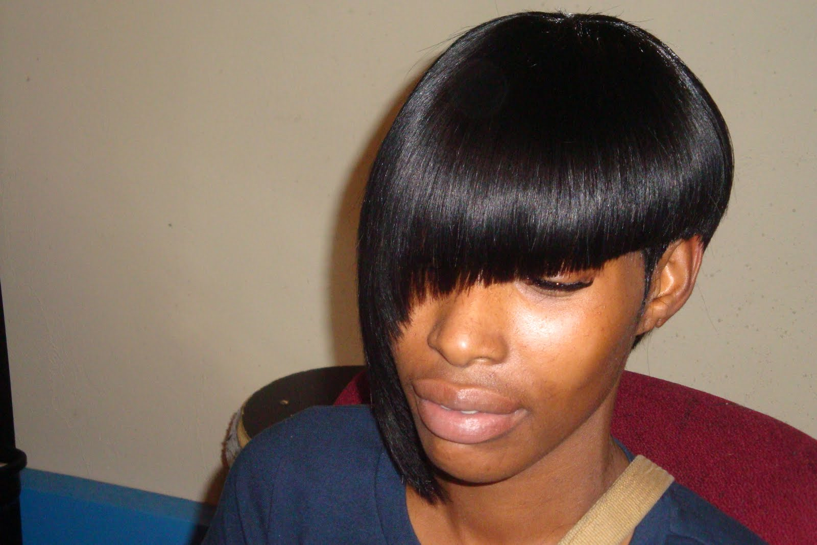 Remarkable Layered Weave Bob Hairstyles Hairstyle Inspiration Daily Dogsangcom