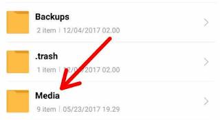 cara simpan status whatsapp teman