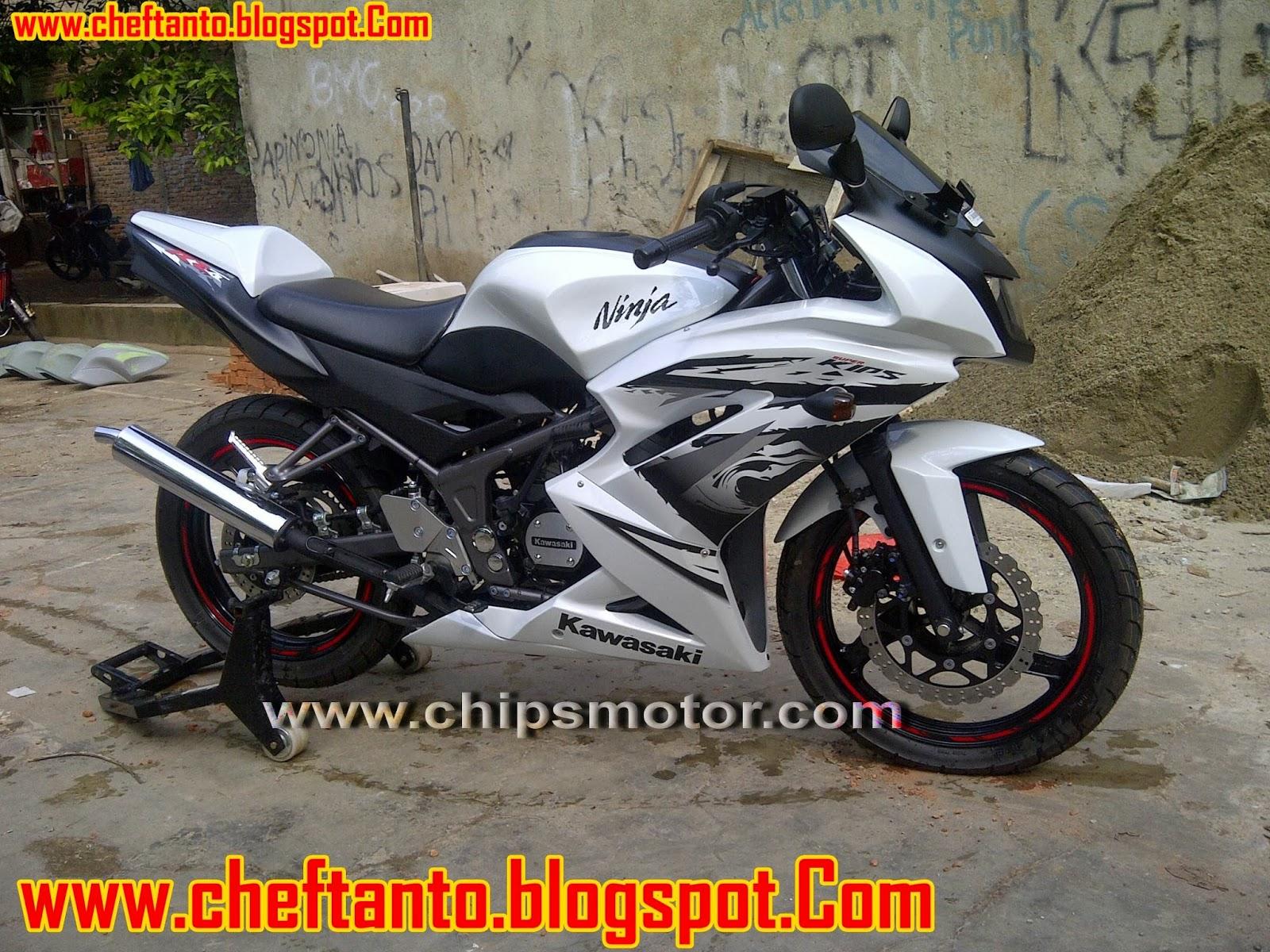 Itulah beberapa modifikasi Kawasaki ninja RR 150 cc Terbaru 2013. title=